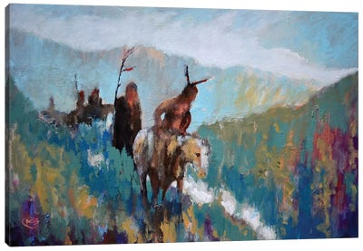 Noise From The Canyon  Canvas Art Print
