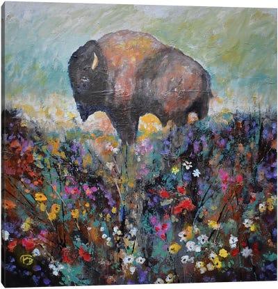 Spring Prairie Canvas Art Print