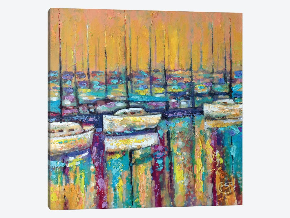 Harbor Sunrise by Kip Decker 1-piece Canvas Art