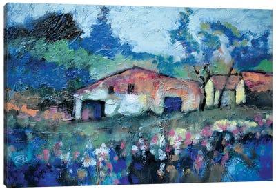 Rusty Barn Canvas Art Print