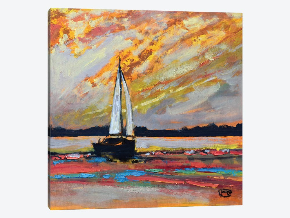Heading Home I by Kip Decker 1-piece Canvas Print