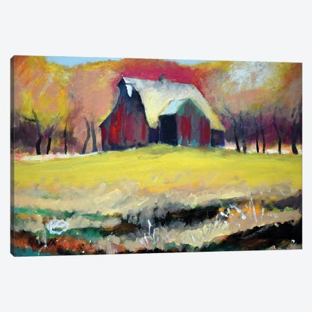 Faded Red Glory Canvas Print #KIP190} by Kip Decker Canvas Wall Art