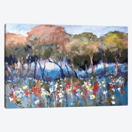 Hillcrest Flowers Canvas Print #KIP19} by Kip Decker Art Print