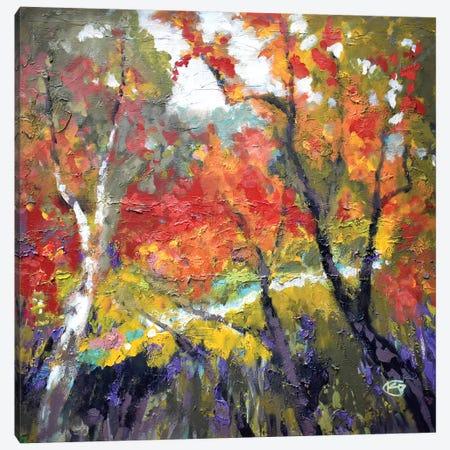 A Creek Runs Through It Canvas Print #KIP1} by Kip Decker Canvas Wall Art