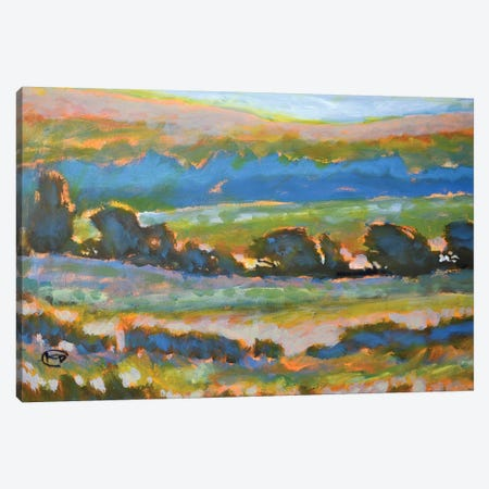 Hillside View Canvas Print #KIP20} by Kip Decker Canvas Art