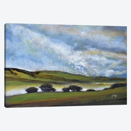 Light On Green Hills Canvas Print #KIP22} by Kip Decker Canvas Wall Art