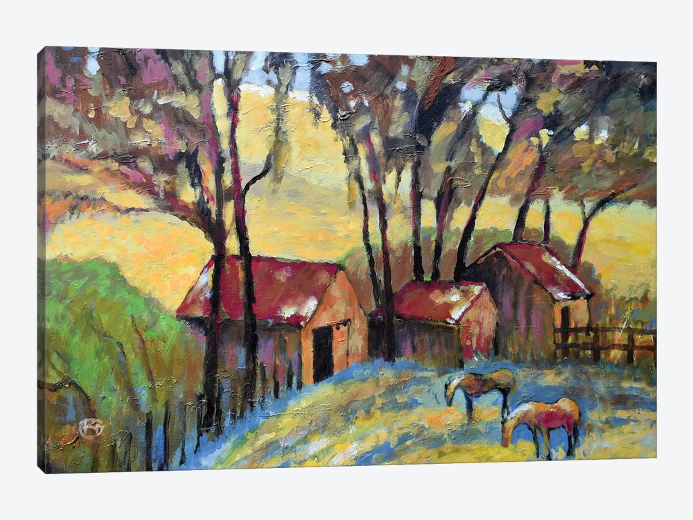Old Ranch by Kip Decker 1-piece Canvas Print