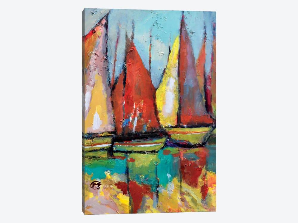 Old Tuna Boats by Kip Decker 1-piece Art Print