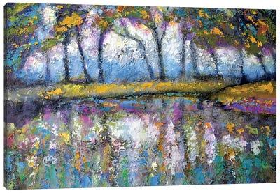 Pond Color Canvas Print #KIP32