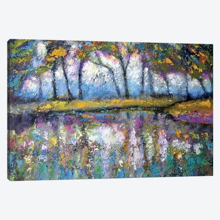 Pond Color Canvas Print #KIP32} by Kip Decker Canvas Print