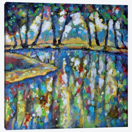 Pond In July Canvas Print #KIP33} by Kip Decker Canvas Art Print