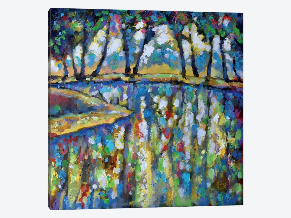 Pond In July by Kip Decker 1-piece Canvas Artwork