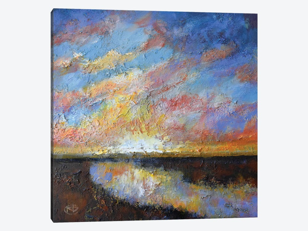 River Sunrise by Kip Decker 1-piece Canvas Art Print