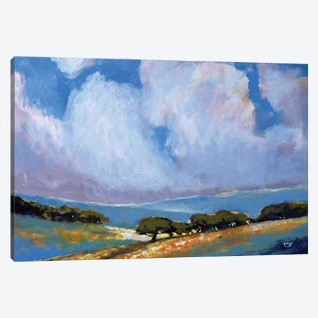 Spring Clouds Canvas Print #KIP37} by Kip Decker Canvas Artwork