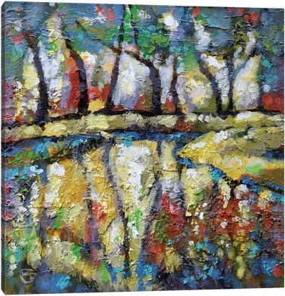 Summer Creek Canvas Print #KIP40