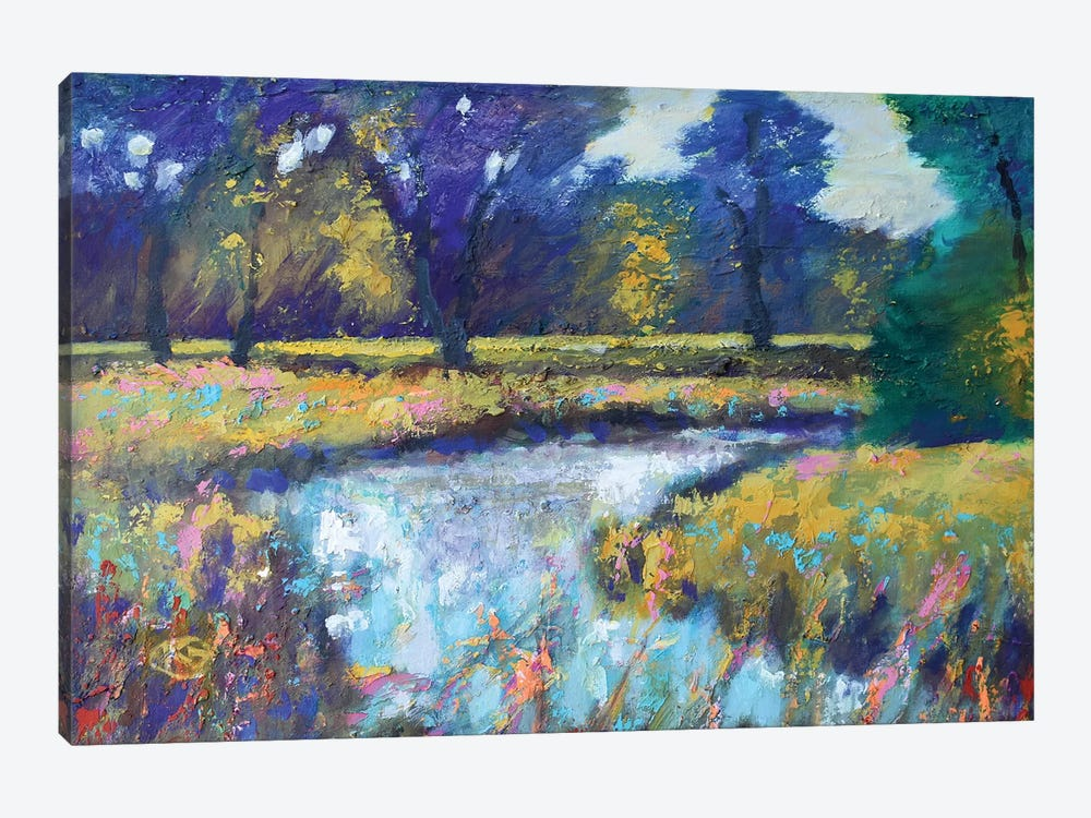 Summer Stream by Kip Decker 1-piece Canvas Artwork