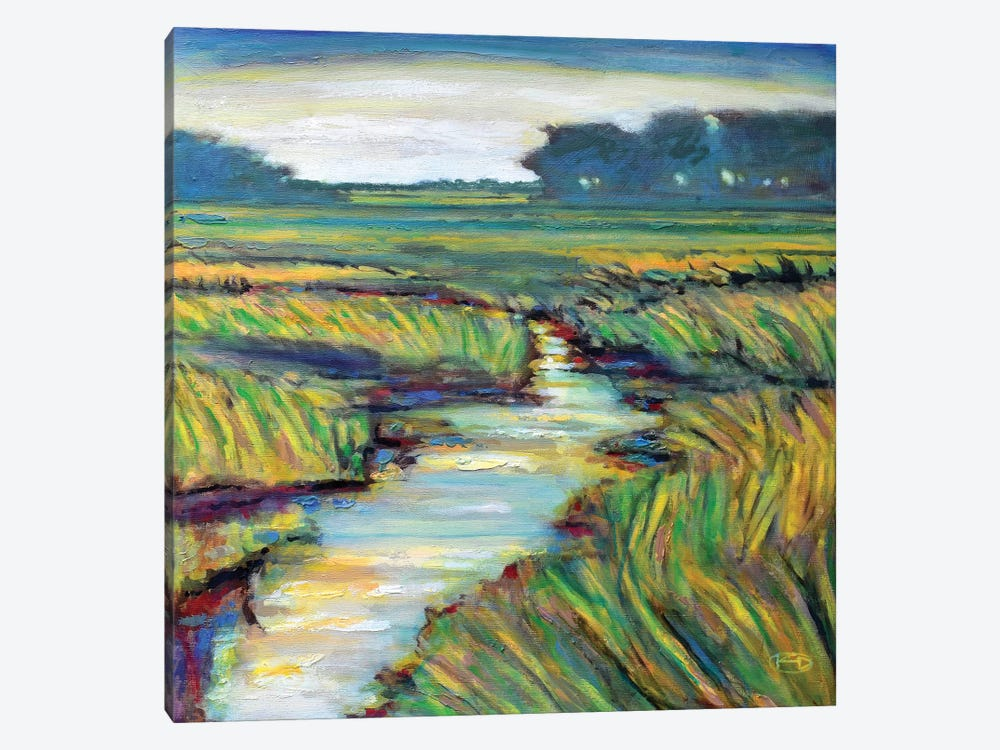 Tidal Creek by Kip Decker 1-piece Canvas Art Print