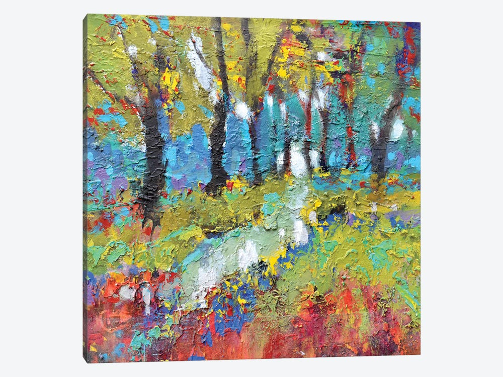 Woodland Trail by Kip Decker 1-piece Canvas Art