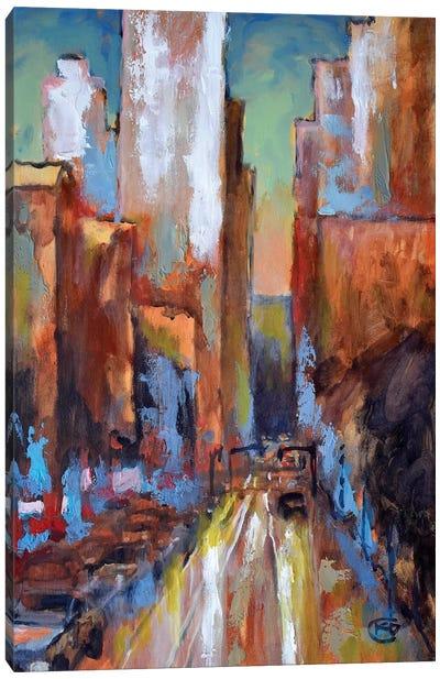 Evening Rush Canvas Art Print