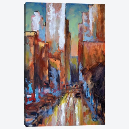Evening Rush Canvas Print #KIP49} by Kip Decker Canvas Art