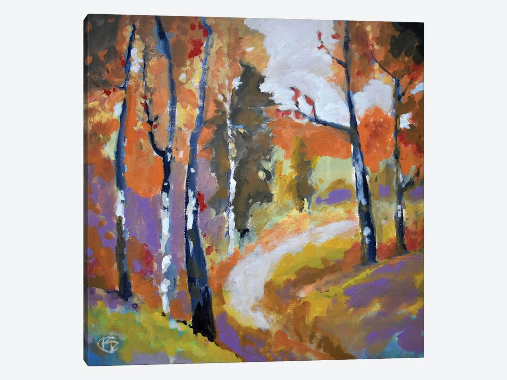 Autumn Trail by Kip Decker 1-piece Canvas Art