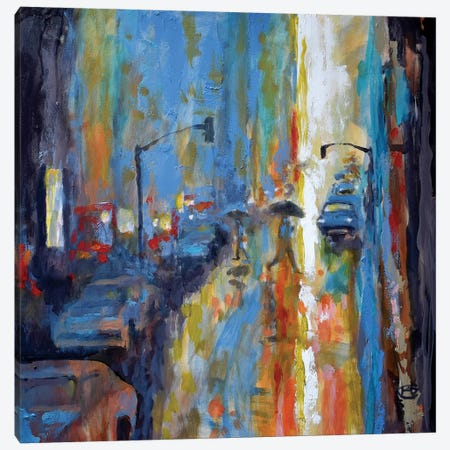 Light Rain Canvas Print #KIP50} by Kip Decker Canvas Print