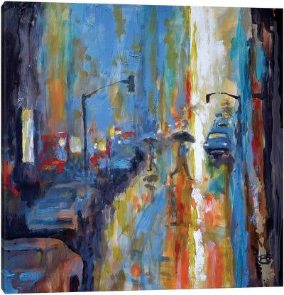 Light Rain Canvas Art Print