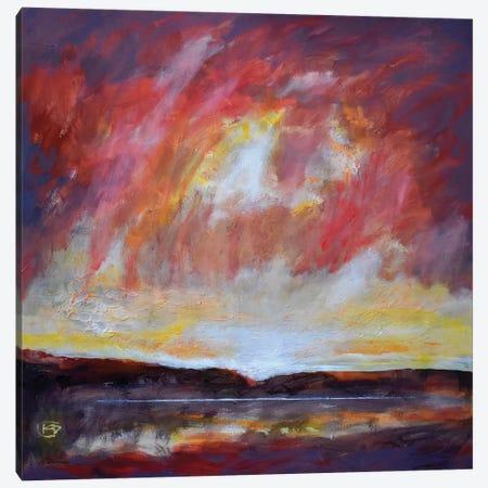 Light On The Lake Canvas Print #KIP53} by Kip Decker Canvas Print