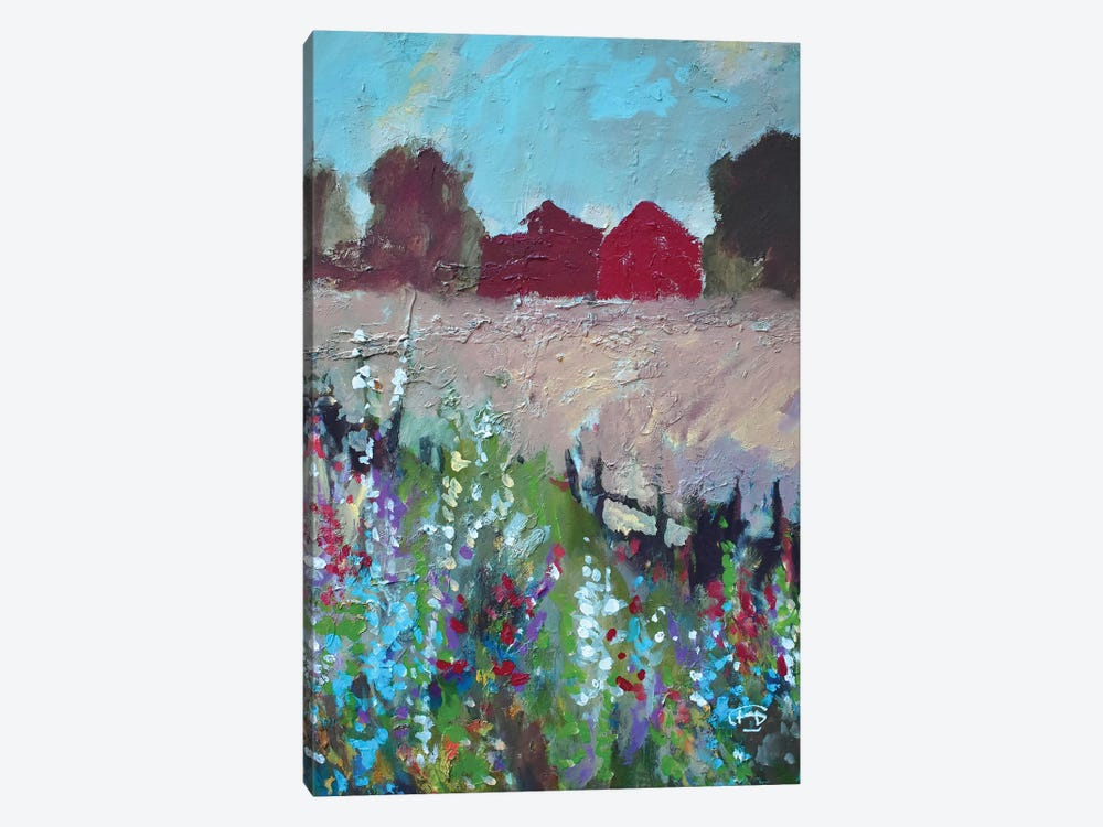 Two Barns 1-piece Art Print