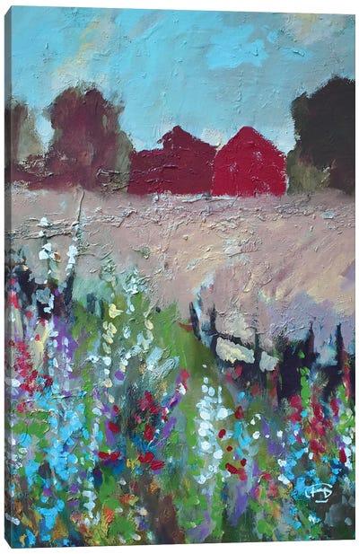 Two Barns Canvas Art Print