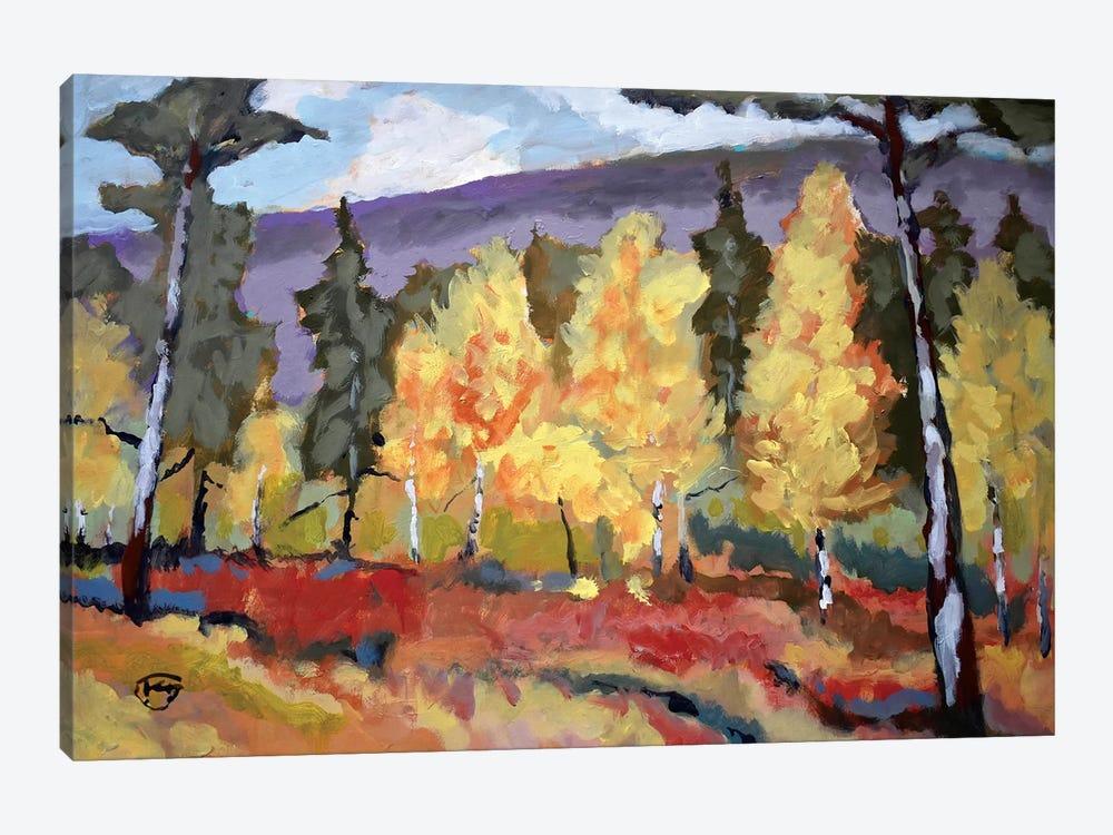 Autumn Trees by Kip Decker 1-piece Art Print