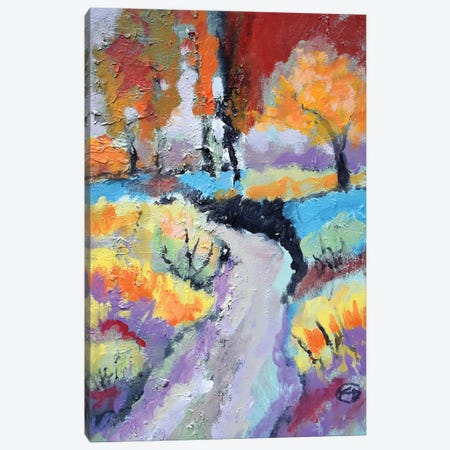 Bend In The Road Canvas Print #KIP62} by Kip Decker Canvas Wall Art