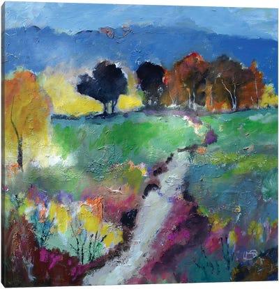 Green Fields Canvas Art Print
