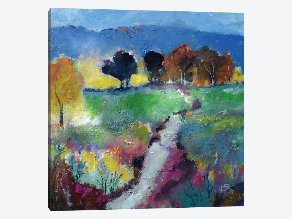 Green Fields by Kip Decker 1-piece Canvas Art Print
