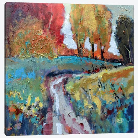 Over The Hill Canvas Print #KIP65} by Kip Decker Canvas Art Print