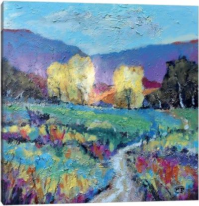 Upper Pasture Canvas Art Print