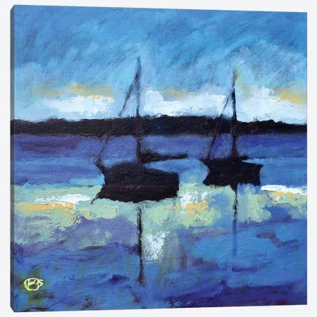 Morning Calm Canvas Print #KIP69} by Kip Decker Canvas Wall Art