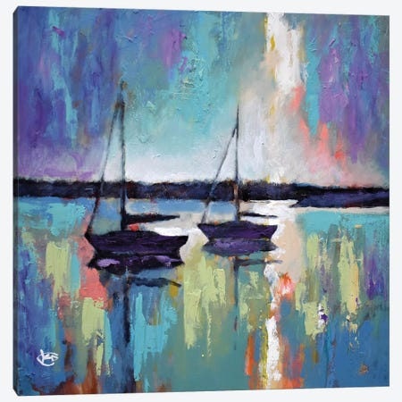Light Breaking Through The Clouds Canvas Print #KIP73} by Kip Decker Canvas Art Print