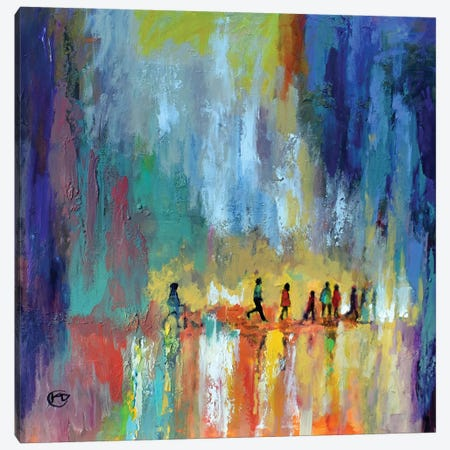The Crossing Canvas Print #KIP74} by Kip Decker Canvas Wall Art