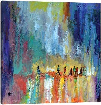 The Crossing Canvas Art Print
