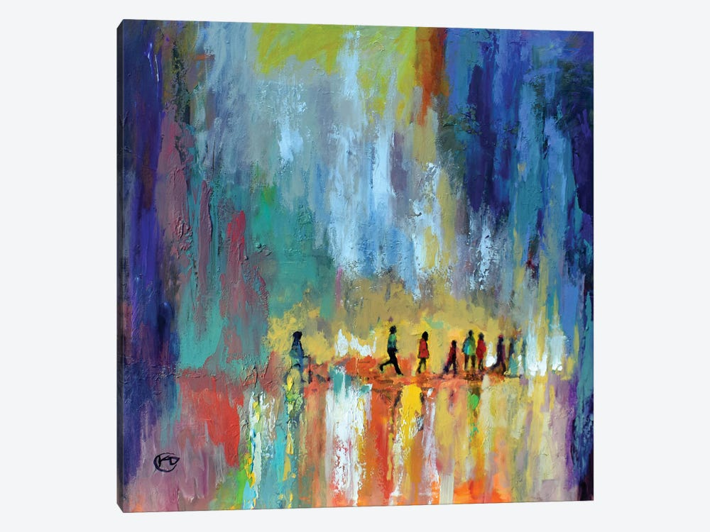 The Crossing by Kip Decker 1-piece Canvas Art Print