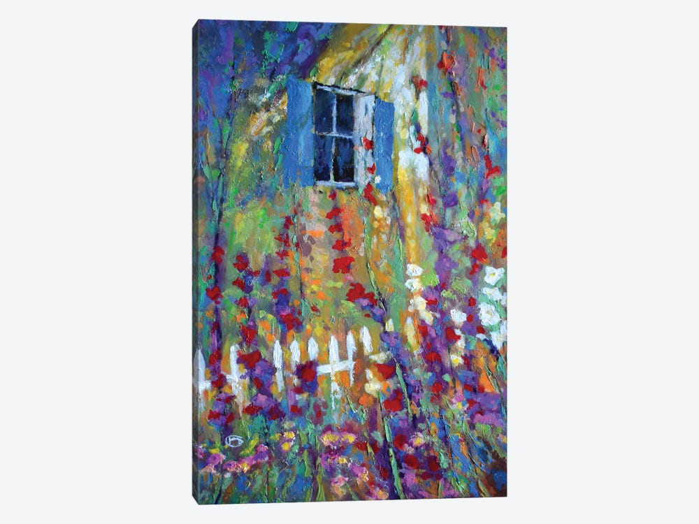 Back Window by Kip Decker 1-piece Canvas Wall Art