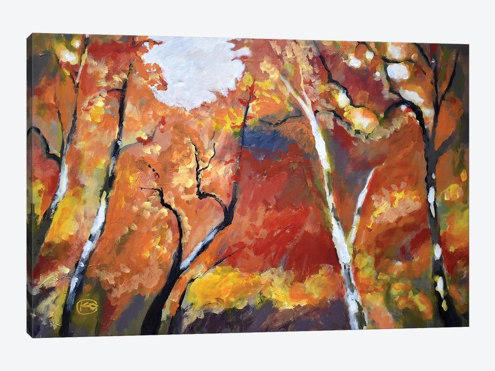 Autumn Woodland by Kip Decker 1-piece Canvas Art Print