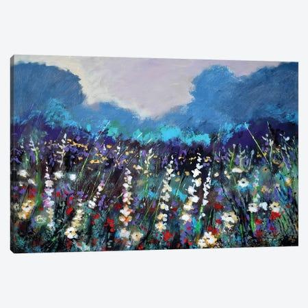 Cool Morning Flowers Canvas Print #KIP82} by Kip Decker Canvas Wall Art