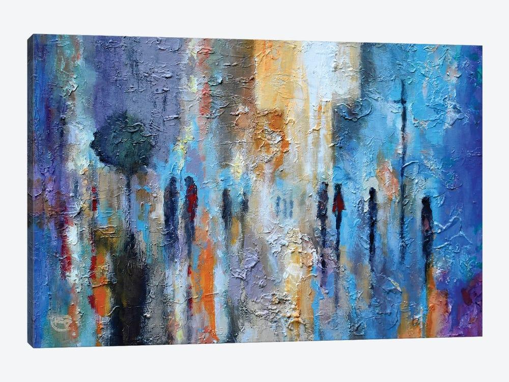 Downtown Friends by Kip Decker 1-piece Art Print
