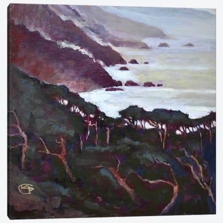 Big Sur Canvas Print #KIP8} by Kip Decker Canvas Art