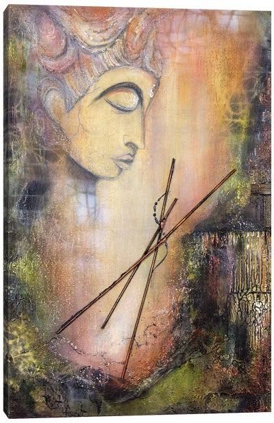Buddha's Retreat Canvas Art Print