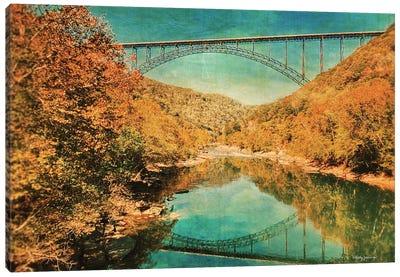 New River Gorge Bridge Canvas Art Print
