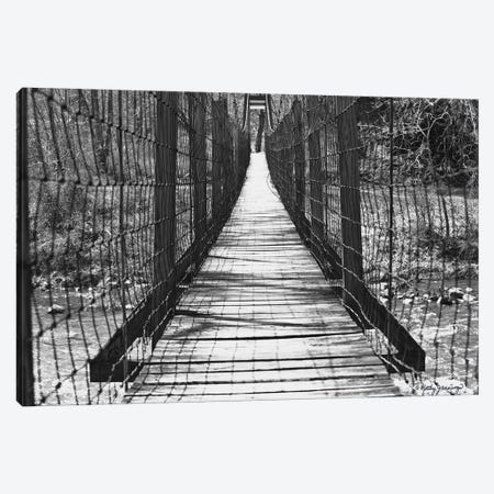 Swinging Bridge Canvas Print #KJN2} by Kathy Jennings Canvas Artwork