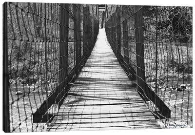 Swinging Bridge Canvas Art Print